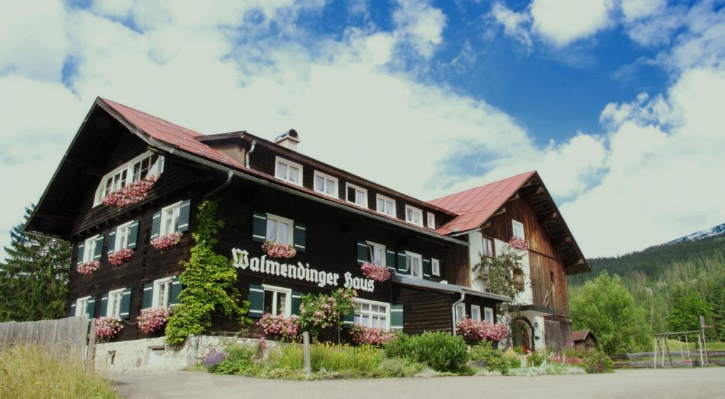 Walliserhus im Kleinwalsertal Vorarlberg