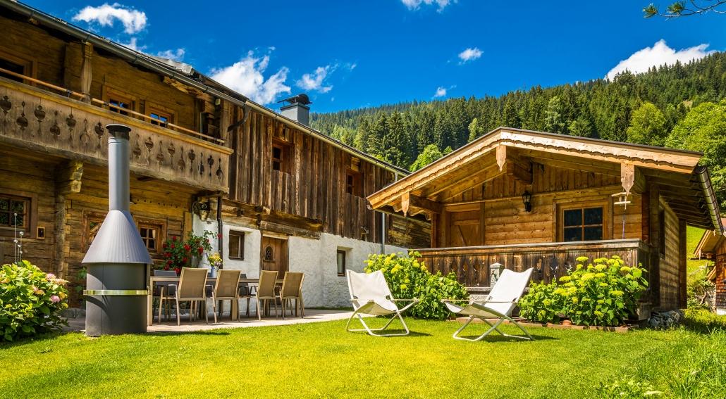 Bauernhaus Hinterglemm Kitzbüheler Alpen Salzburg