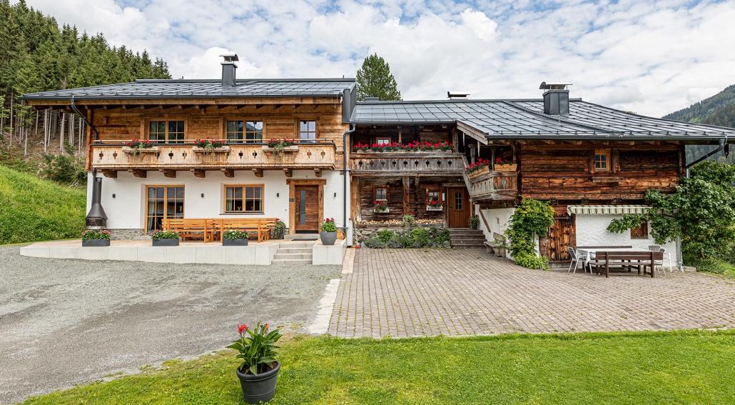 Familien Chalet Hinterglemm Kitzbüheler Alpen Salzburg